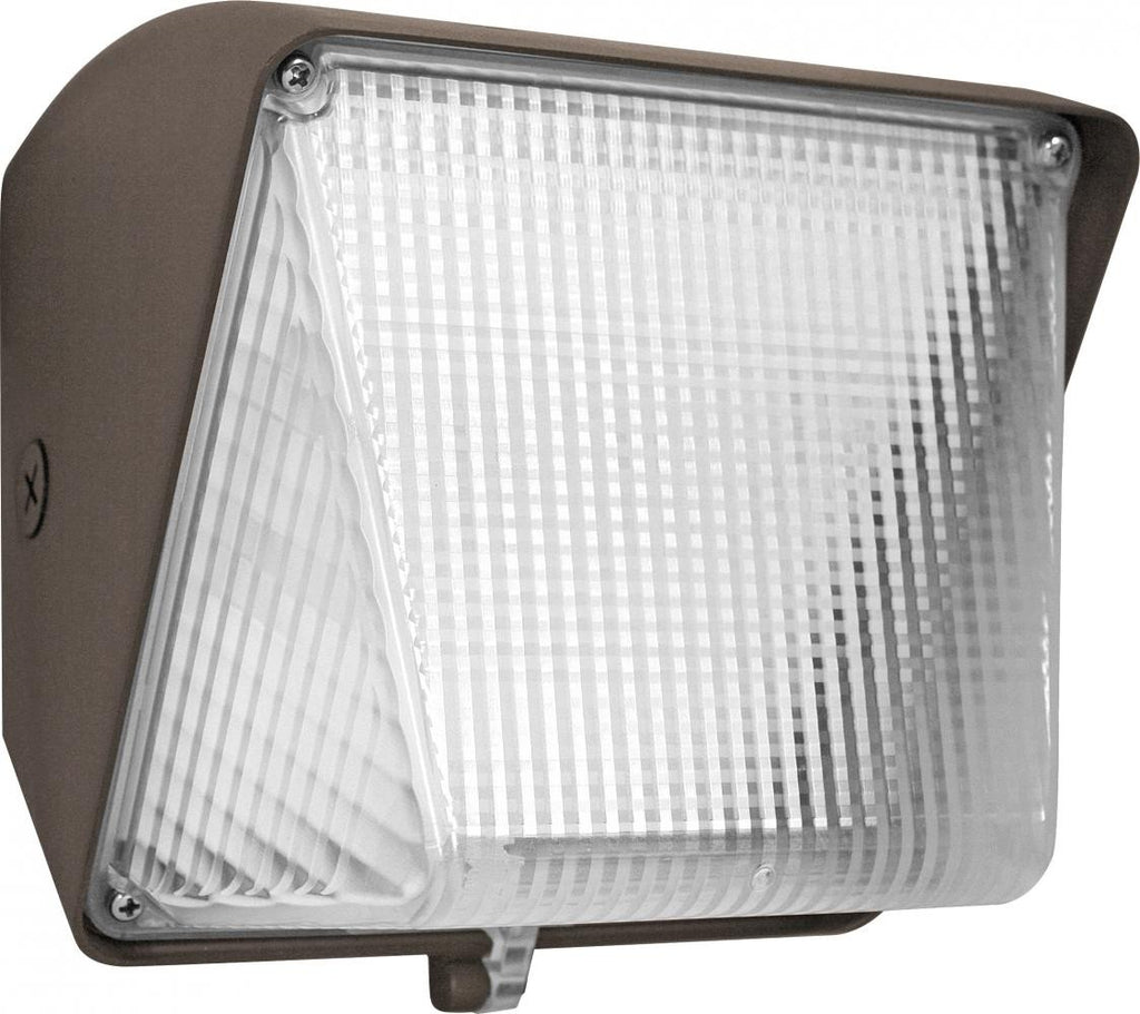 ELCO Lighting EWP30S40 LED Small Wall Packs 30W 4000K 3800 lm 120/277V Dark Bronze Finish | BuyRite Electric