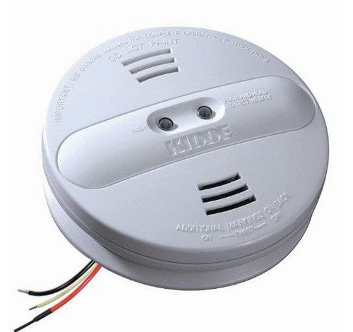 Kidde P12010 Hardwired Dual Sensor Interconnect Smoke Alarm 120V AC / DC - BuyRite Electric