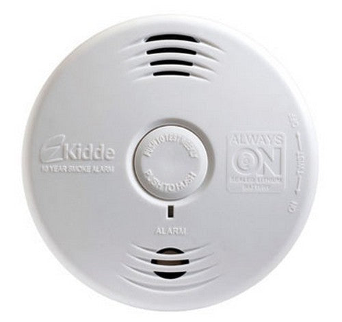 Kidde P3010B Worry-Free Bedroom Sealed Lithium Battery Power Smoke Alarm