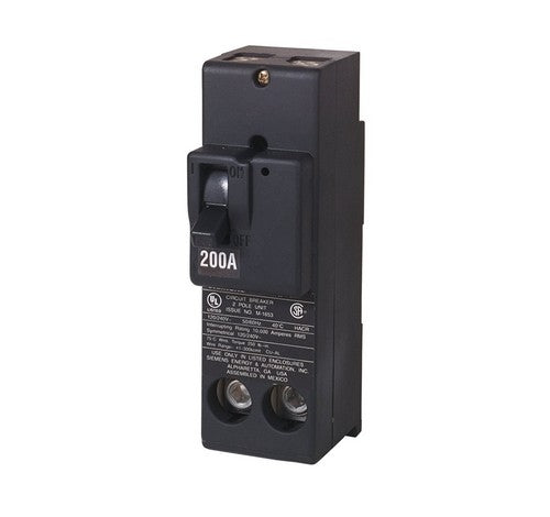 Siemens QN2200 200-Amp Four Pole with 120 / 240V QN Type Circuit Breaker - BuyRite Electric