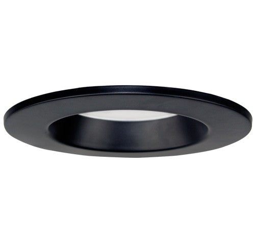 ELCO Lighting RMLD6B 5 Inch or 6 Inch Cover Plate Color Trims Black Finish