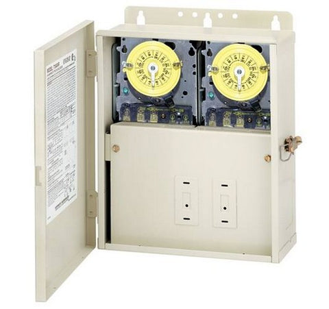 Intermatic T10101R 30 A Power Center With Two T101M Mechanisms - BuyRite Electric