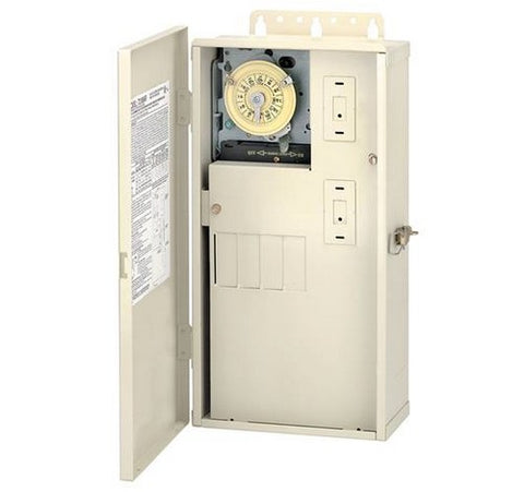Intermatic T21004R 60 A Load Center With T104M Mechanism - BuyRite Electric