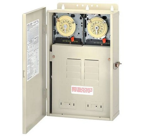 Intermatic T30604R 100 A Load Center With T106M & T104M Mechanisms - BuyRite Electric