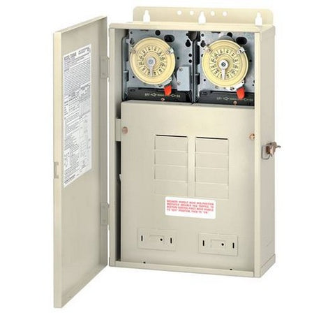 Intermatic T32404R 100 A Load Center With T104M201 & T104M Mechanisms - BuyRite Electric
