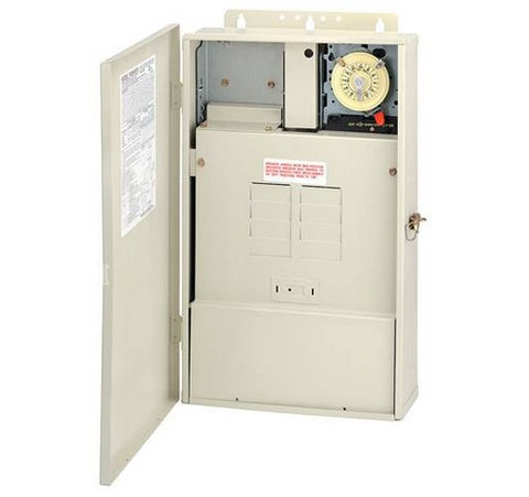 Intermatic T40004RT1 Control System with Transformer and 100 W Load Center with T104M Mechanism - BuyRite Electric