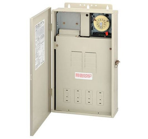 Intermatic T40004R 125 A Load Center With T104M Mechanism - BuyRite Electric