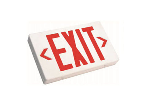 Westgate Led Exit Sign 120-277V - White Housing - BuyRite Electric