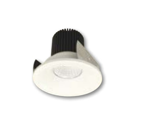 "NORA Lighting NIOB-2RNB 2"" iolite Round Bull Nose Regress Non-Adjustable Trim - BuyRite Electric"