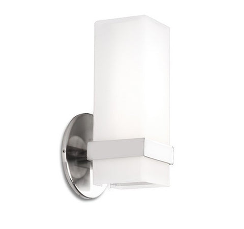 Kuzco Lighting WS8809-XX Bratto Wall Sconce Chrome Light 120V - BuyRite Electric