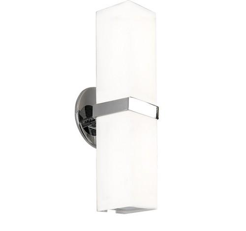 Kuzco Lighting WS8815-XX Bratto Double Wall Sconce Brushed Nickel Light 120V - BuyRite Electric
