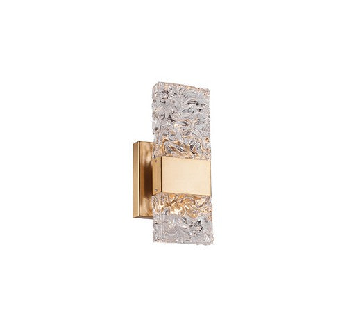 Kuzco Lighting WS9512-XX Oslo LED Wall Sconce Brushed Gold Light 120V - BuyRite Electric