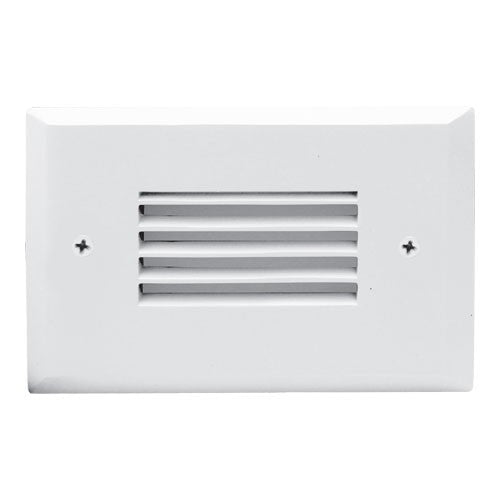 ELCO Lighting ELST9730W Mini LED Step Light with Angled Louver 2W 3000K 120V White Finish | BuyRite Electric