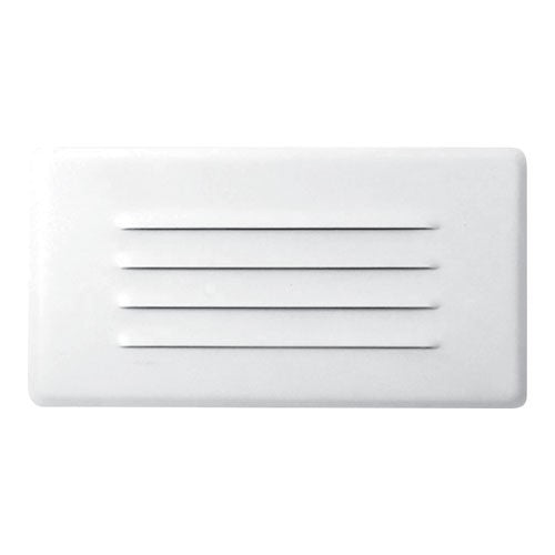 ELCO Lighting ELST21W LED Step Light with Angled Louver 2W 3000K 120V White Finish | BuyRite Electric