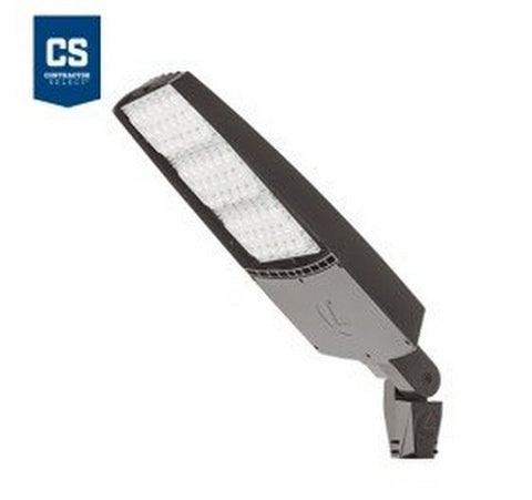 Lithonia Lighting Contractor Select RSXF3 312W Max Dark Bronze LED Flood Light - Integral Slipfitter Mount 120-277V- BuyRite Electric