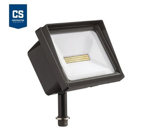 Lithonia Lighting Contractor Select QTE 24W LED Flood Light - Knuckle Mount 120V- BuyRite Electric
