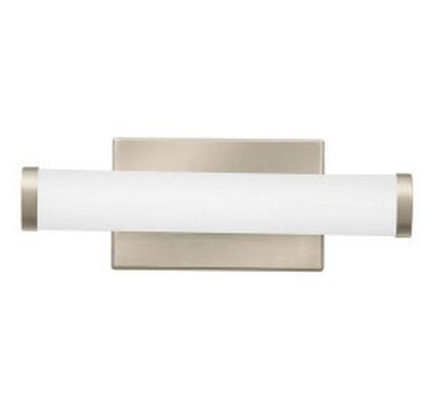 "Lithonia Lighting Brushed Nickel FMVCCL Contemporary Cylinder 12"" LED Vanity- BuyRite Electric"