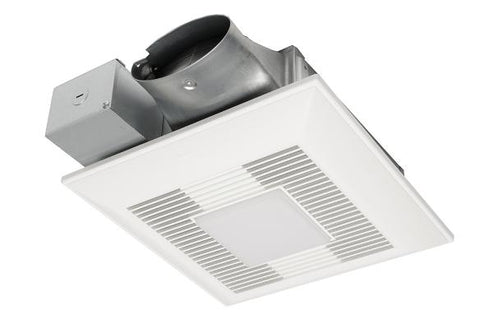 Panasonic Whisper Value DC Fan / LED- ECM Motor with Pick A Flow (LED Chip Panel Included) - BuyRite Electric