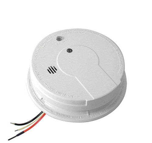 Kidde i12040 Hardwired Interconnect Smoke Alarm with Hush™ 120V AC / DC - BuyRite Electric
