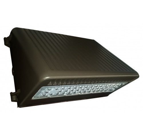 Westgate 50W Medium Fixed Dark Bronze Led Wall Pack Cutoff 120~277V AC - BuyRite Electric