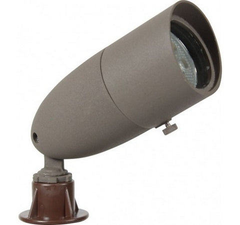 Orbit L1071-WH White Led Outdoor Cast Aluminum Directional Light Bullet 12V - BuyRite Electric