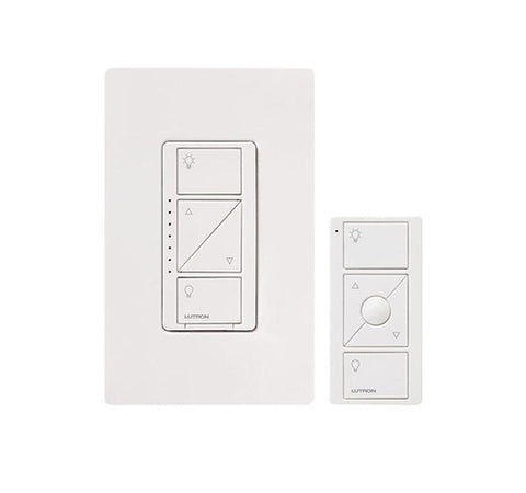 Westgate Lutron Caseta P-PKG1W-WH - In-Wall Dimmer and Pico Remote - BuyRite Electric