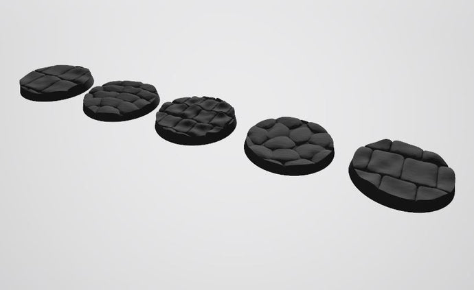 Europa Pattern 40mm Bases STL-file for 3D-Printing