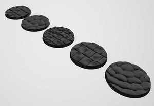 Copy of Europa Pattern 55mm Bases STL-file for 3D-Printing