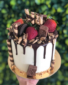 "6""inch Chocolate Strawberry Delight"