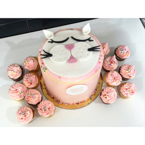 Kitty Cat Cake & Cupcake Package