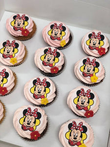 12 Regular Minnie Mouse (red)
