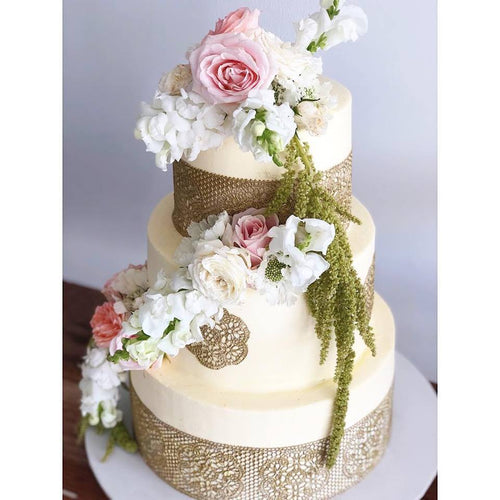 3 Tier Wedding Cake (Shields)