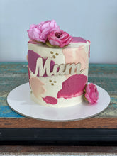 "Load image into Gallery viewer, 4""inch Mum 2021 cake"