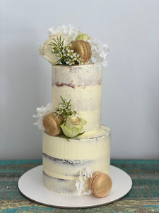 Mini 2 Tier - whimsical white