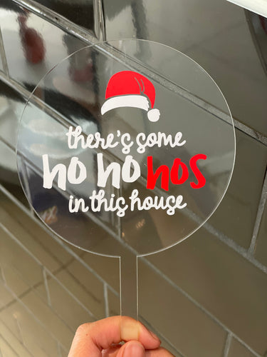 "Topper ONLY - ""there's some hos in this house"""