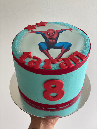 "6"" Spiderman Cake"