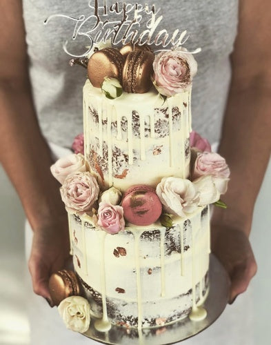 Mini 2 Tier - Rustic Rose Gold