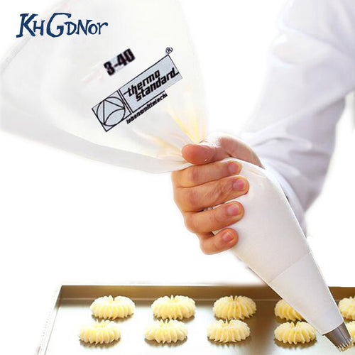 35/40/46/50/55/60cm 100% Cotton Cream Pastry Icing Bag Baking Cooking Cake Tools Piping Bag Kitchen Accessories Eco-Friendly
