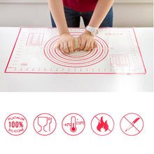 Load image into Gallery viewer, Silicone Rolling Pins & Pastry Mat
