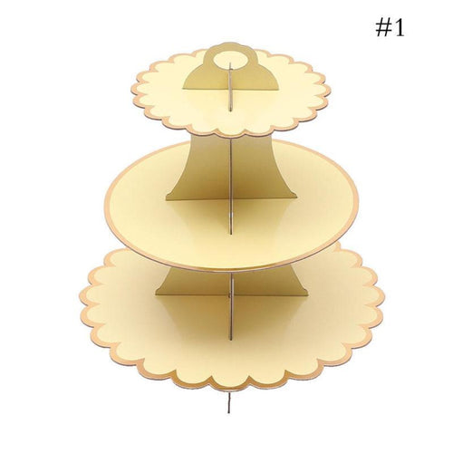 1 Pc 4 Tier Cupcake Holder Cardboard