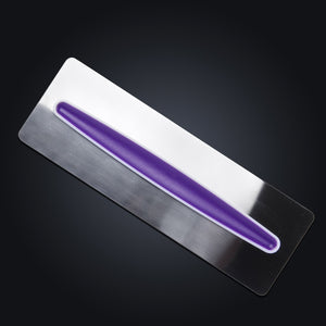 Stainless Steel Smoother Cake Scraper