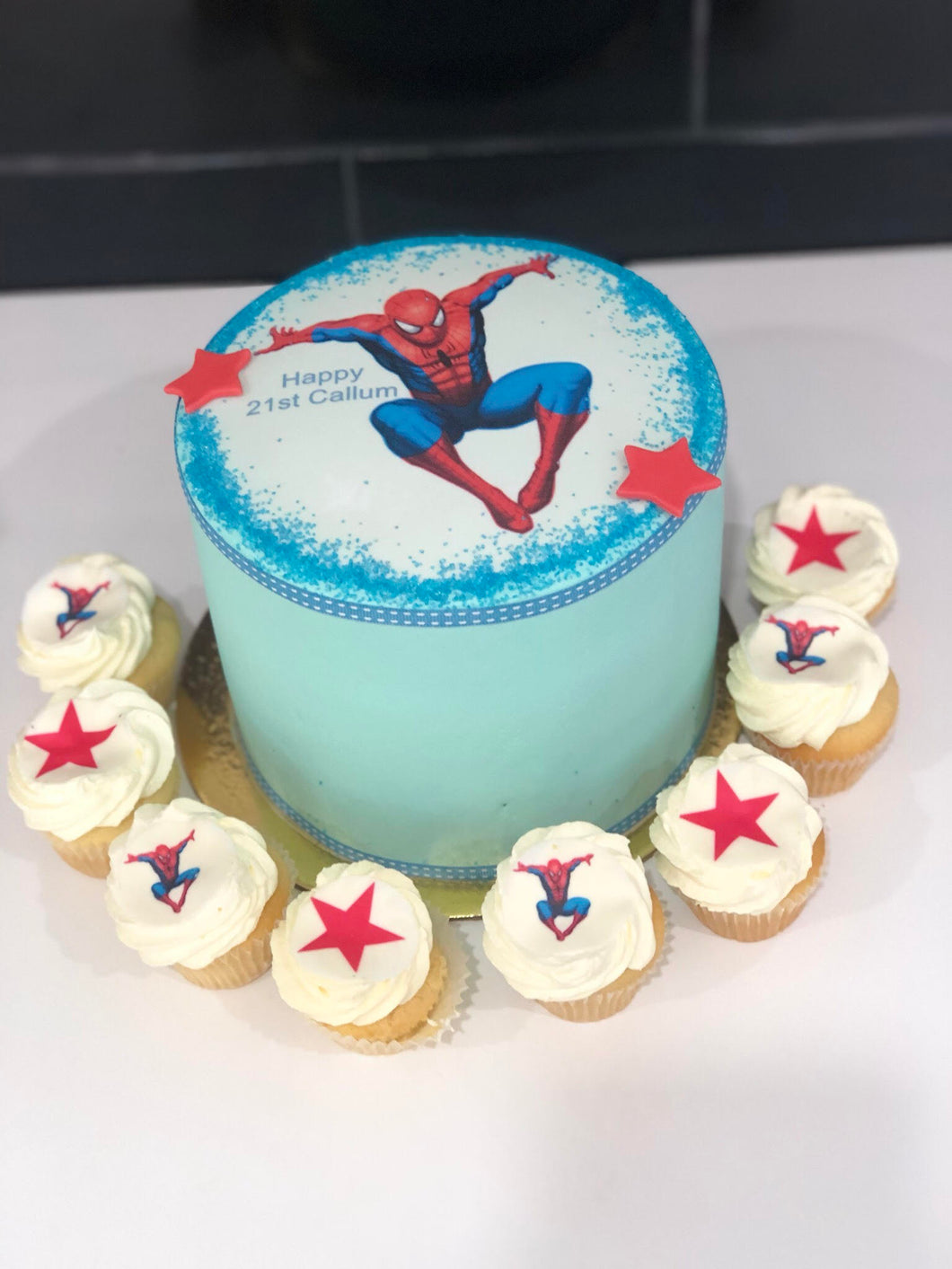 Spiderman Cake & Cupcake Package