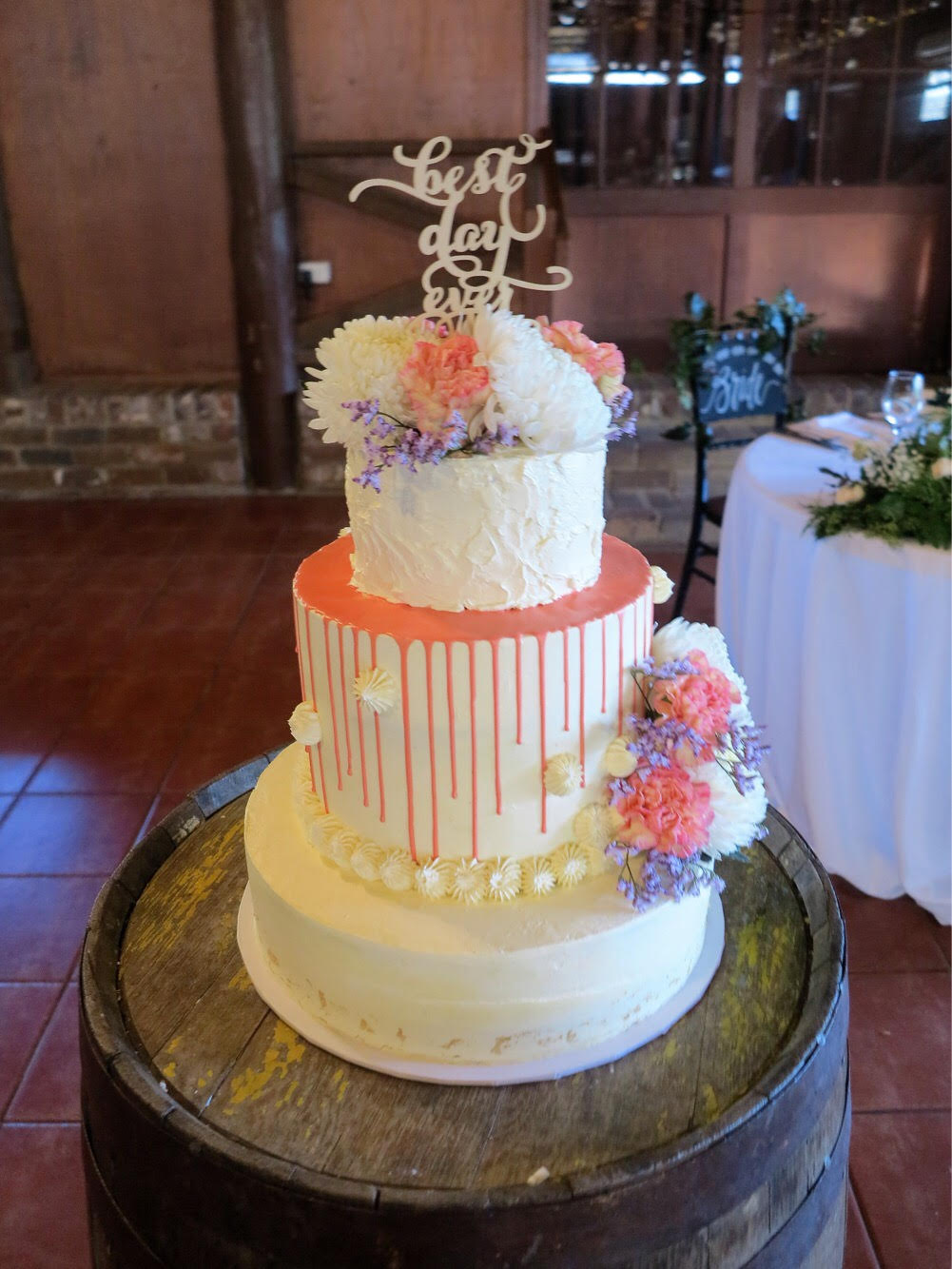 3 Tier Wedding Cake Anisha