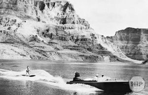 "Postcard of ""Grand Canyon Upstream on Colorado from Hoover Dam"""
