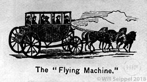 """The Flying Machine"" Coach"