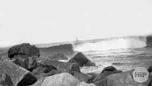 1912 Surf in York Beach, Maine.