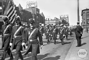 1916 Odd Fellow Parade in Boston.