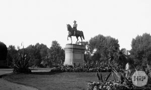 George Washington statue in Public Garden, Boston.