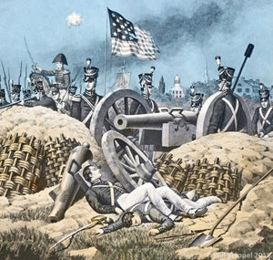 War of 1812 Illustration