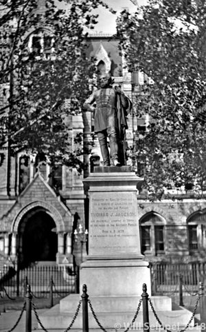 Statue of General Jackson in Richmond